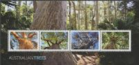 AUS SGMS4340 Australian Trees miniature sheet